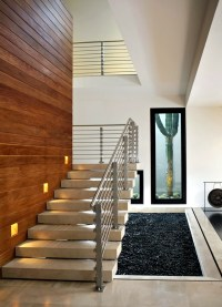 Modern concrete stairs  22 ideas for interior and ...