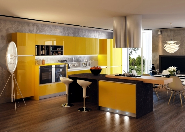 Concepts Of Kitchen Design Oriented 3D Visualized By Artem
