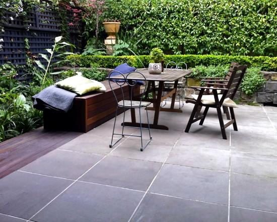 Concrete Slabs Lay In The Garden – 20 Ideas For Bridges Interior