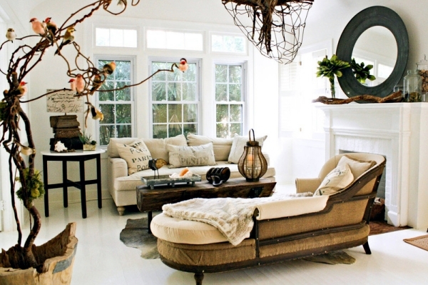 Country Style Interior Design – Modern Home In Florida Interior