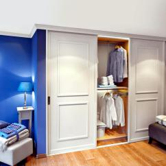 Decoration Ideas For Living Room Walls Bookcase Built-in Wardrobe With Sliding Doors | Interior Design ...