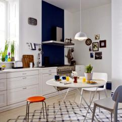Blue Accent Chairs For Living Room Latest Curtains Bright Kitchen With A Classic Danish Design | Interior ...