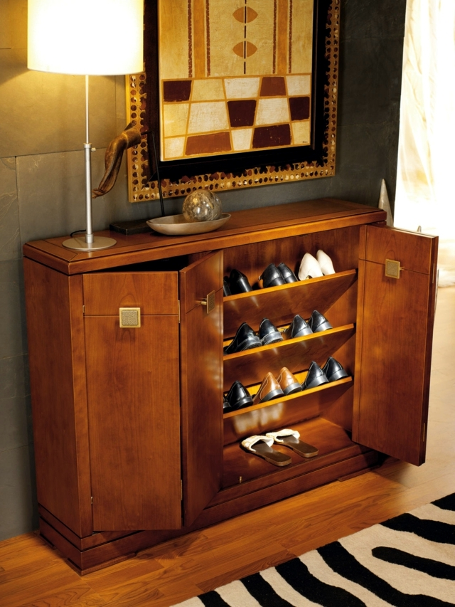 Shoe cabinet design  15 ideas for industrial design trends 2015 residential  Interior Design