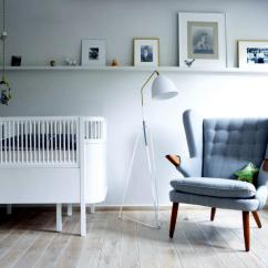 Chairs For Baby Room High Chair Attach To Table With Bed And Gray Interior Design Ideas Ofdesign Nursery
