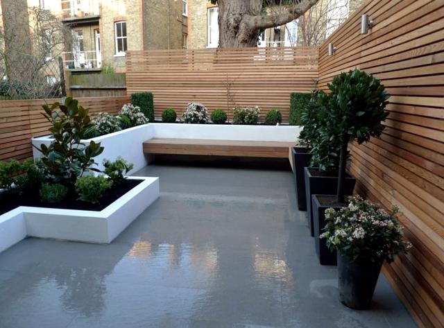 Wooden Bench 48 Creative Ideas Garden Design Stone And Wrought
