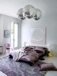 Satin, disco balls and pink print   Interior Design Ideas ...