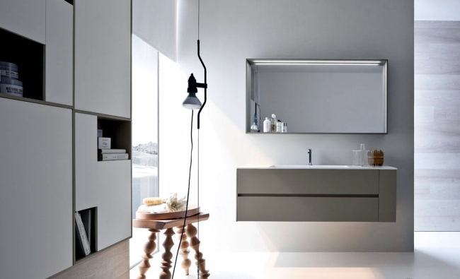 Ideas for bathroom design  minimalist and modern