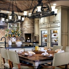 Tuscan Style Kitchen Butcher Block Top Island 28 Country Kitchens That Will Make You Want To Cook