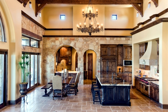 28 countrystyle Tuscan kitchens that will make you want to cook  Interior Design Ideas  Ofdesign