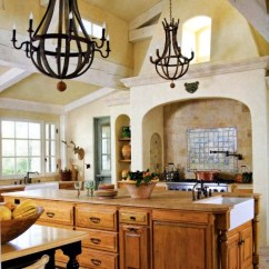 Tuscan Style Kitchen Metal Tables 28 Country Kitchens That Will Make You Want To Cook Cottage In