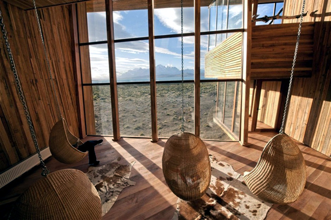 Luxury Tierra Patagonia Hotel and Spa offers beautiful