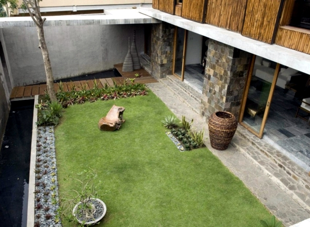 Exotic Wood And Stone House In The Philippines Interior Design Ideas Ofdesign