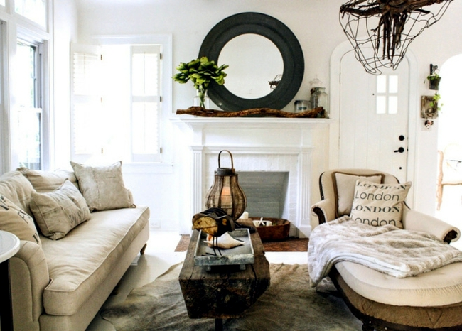 Inspired Decorated In A Vintage Style Of The 40's Interior Design