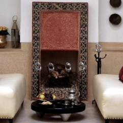 Arabian Nights Living Room Wall Mounted Tv Units For The Configuration Of Moroccan Decor Interior Residential Styles
