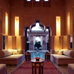 Arabian Nights Living Room With Sofa And Four Chairs The Configuration Of Moroccan Decor Interior