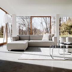 White Sofa Modern Living Room Ashley Furniture Brown Sectional Modernised Bungalow In Light Gray | Interior Design Ideas ...