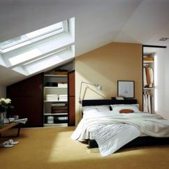 Living Room Wall Lights Ideas Large Rugs Built-in Wardrobe In The Bedroom With Sloping Roof ...