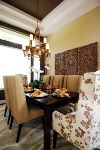 wall art made from recycled wood gives your home a special ...