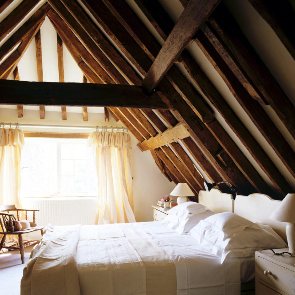 Asleep beneath the gable roof  Interior Design Ideas  Ofdesign