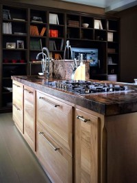 Modern solid wood kitchen Majestic Otto Cento | Interior ...