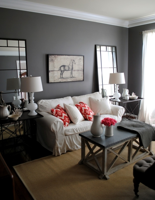 living room design with grey walls redecorating color ideas for gray wall paint interior