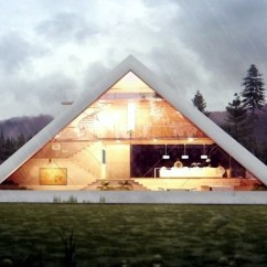 Wood Frame Sofa Designs How To Reupholster Faux Leather An Awesome 3d House Concept As A Pyramid Of Juan Carlos ...