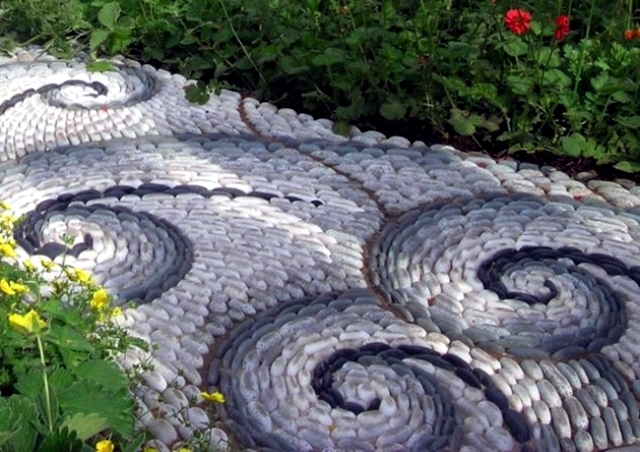 Decorative Garden Stones Landscaping With Stone – 21 Ideas And Use