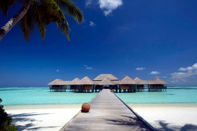 Holidays in the Maldives  Dream Hotel with private beach