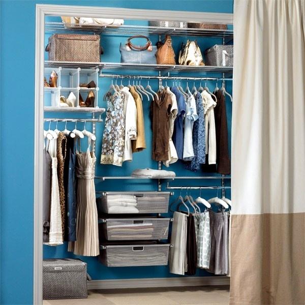 vastra undvika tolkning curtain walk in wardrobe