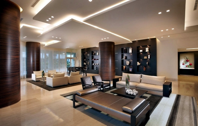 33 examples of modern living room ceiling design