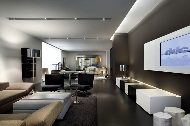 modern ceiling ideas for living room purple set 33 examples of design interior and life
