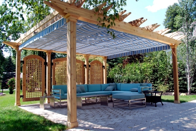 40 Ideas For Pergola In The Garden Good Sun Protection And Privacy