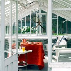 Red Sofa White Living Room Small Ideas 2018 Greenhouse Conservatory Converted | Interior Design ...