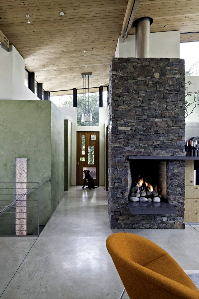 88 Ideas For Wall Design With Wood Stone Wallpaper And More Interior Design Ideas Ofdesign