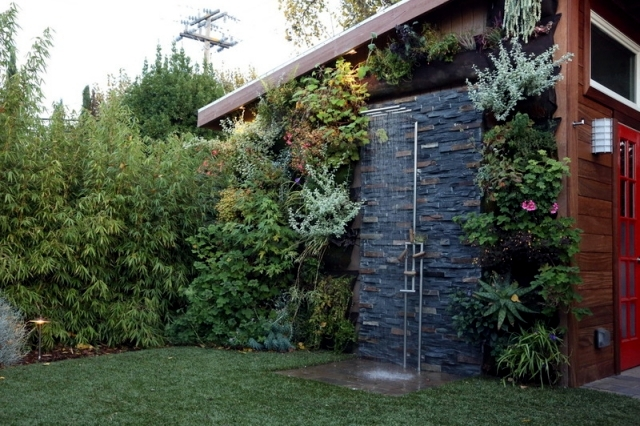 31 Ideas For Garden Shower – What Material Is Best? Interior