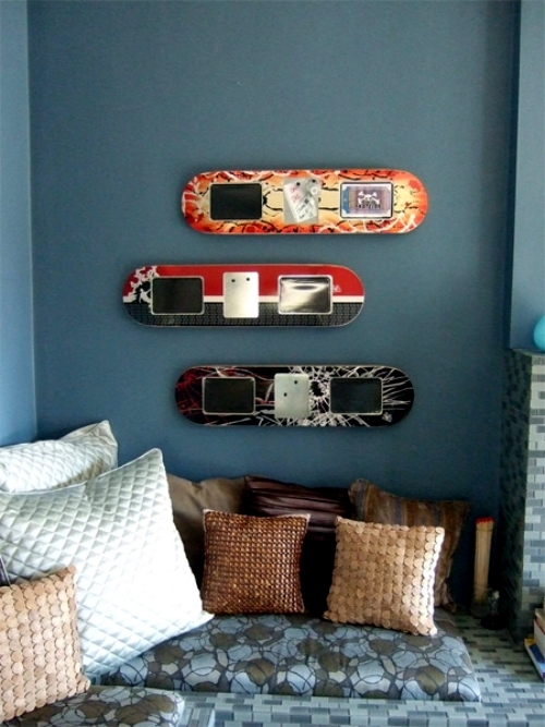 office chairs with wheels chair mat for carpet floors ideas upcycled furniture design – skateboard parts | interior - ofdesign