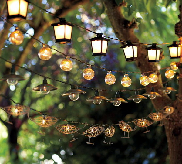 Decorating Ideas For Garden Lighting – Ambient Atmosphere