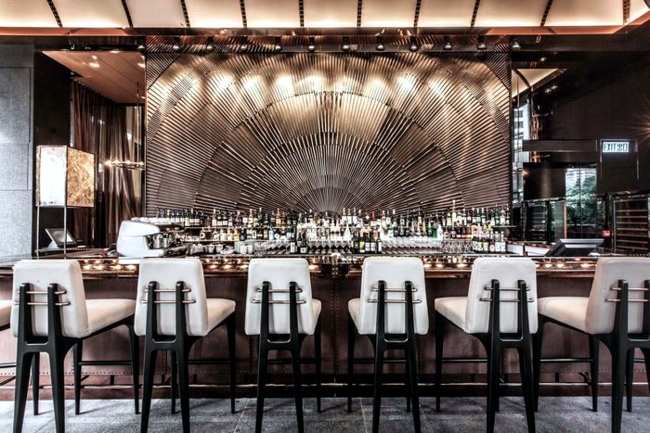 100 top restaurants and bars with a glamorous interior