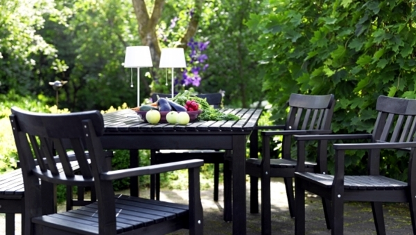 black folding table and chairs set clear acrylic 14 garden furniture ideas from ikea – up the patio nice cheap | interior design ...
