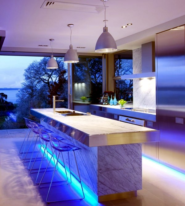 led kitchen lights cabinet options 17 ideas for lighting that can change the interior design
