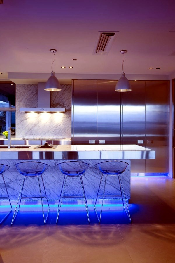 led kitchen lights chairs for table 17 ideas lighting that can change the interior modern