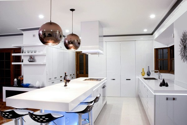 modern kitchen lights interactive design 17 ideas for led lighting that can change the interior