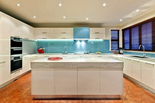 kitchen lights ideas square wall clocks 17 for led lighting that can change the interior
