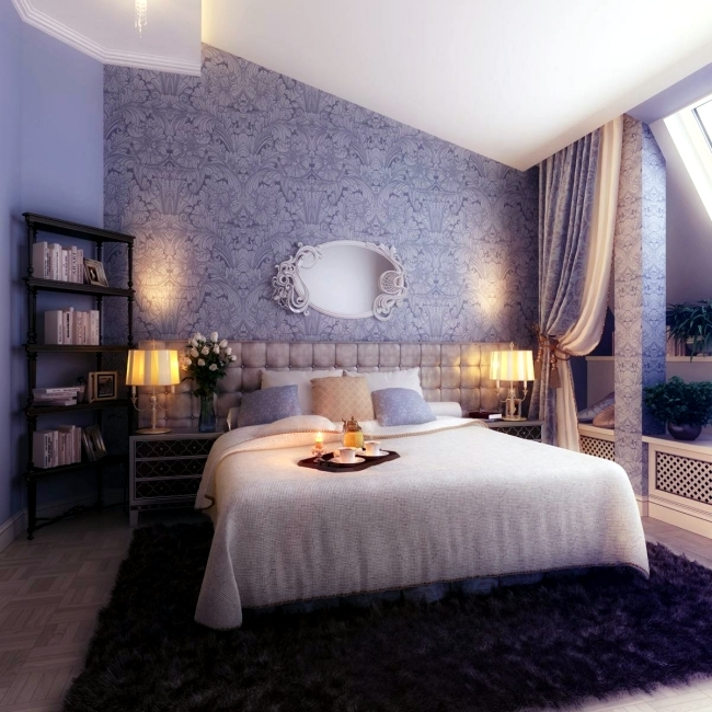20 Ideas For Attractive Wall Design Behind The Bed In The Bedroom Interior Design Ideas Ofdesign
