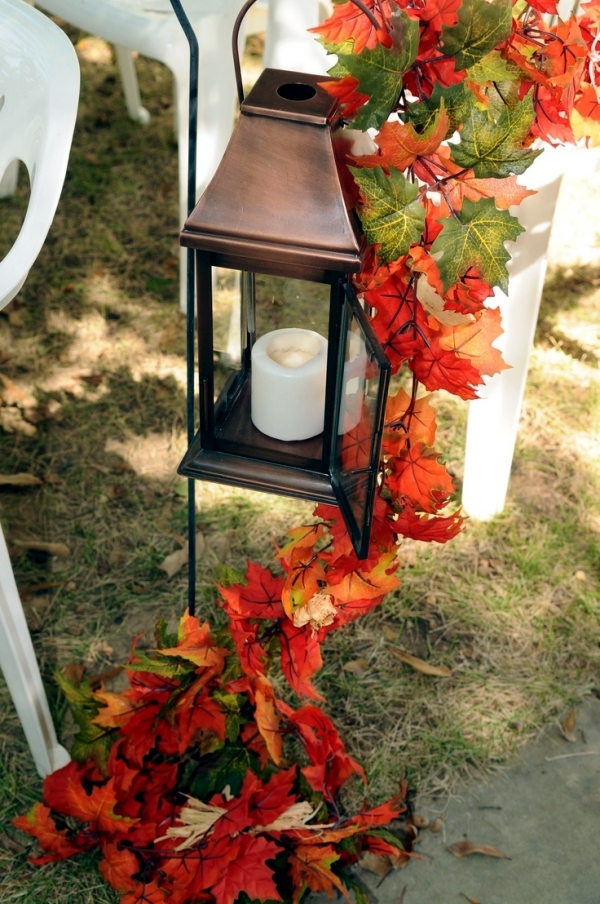 30 ideas for atmospheric autumn decoration with lights and lanterns  Interior Design Ideas