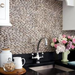 Kitchen Wall Tiles French Towels 30 Ideas For Design Back Glass Or Stone