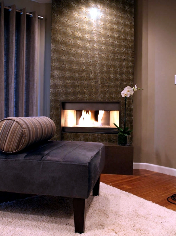 33 Ideas for warmth and comfort of home  fireplace as the