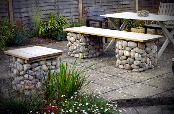 Build Raised Beds Benches And Gabion Fence Itself – Gabions In