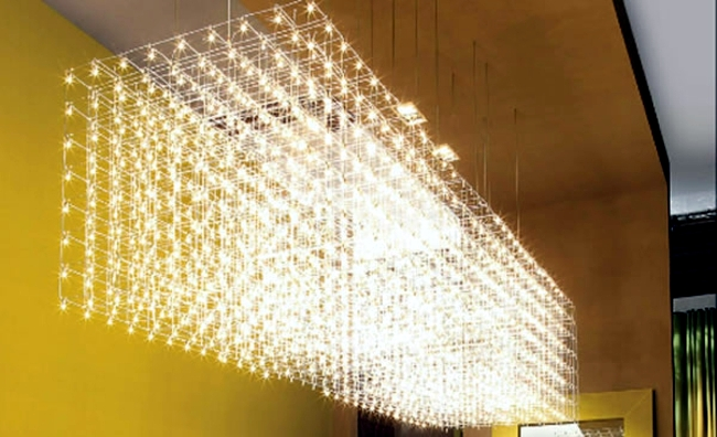 Chandelier Design Adds A Touch Of Glamor To The Establishment Interior Design Ideas Ofdesign