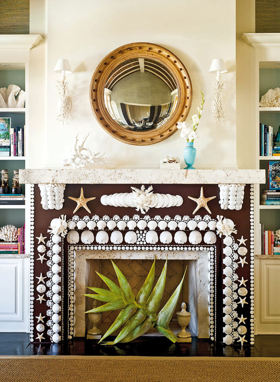 Decorate the unused fireplace in the living room  20 creative decorating ideas  Interior